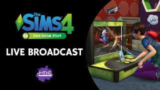 The Sims 4 Kids Room Stuff Broadcast