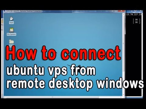 MMObeginer: How to connect ubuntu vps VULTR from remote desktop windows