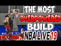 MOST OVERPOWERED BUILD NBA LIVE 19 WOMAN DUNKING ON MEN 😱😱SCORE EVERYTIME COMPLETE CHEESE!!