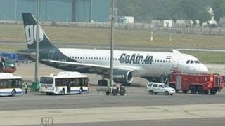 GoAir flight makes emergency landing