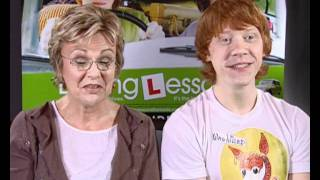 Julie Walters and Rupert Grint interview on swearing
