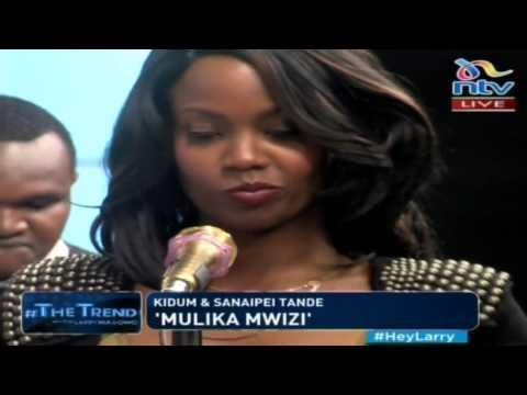 Sana and Kidum perform 'Mulika Mwizi' #theTrend
