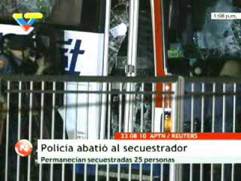 Filipinas: Seis fallecidos por secuestro de bus