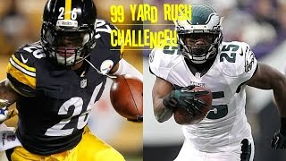 WHO CAN GET A 99YD RUN FIRST?!? LEVEON BELL VS LESEAN MCCOY!! HE IS A TRUCK!!