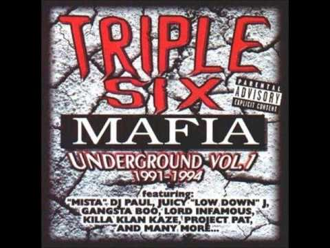 Triple Six Mafia   Underground Vol1 19911994