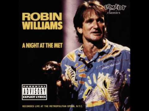 Robin Williams A Night at the Met -Khadafi