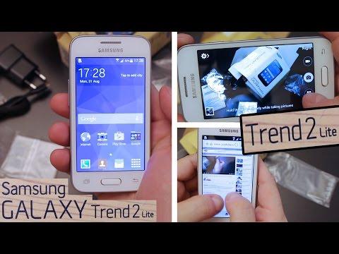 Samsung Galaxy Trend 2 Lite Unboxing + Camera Test