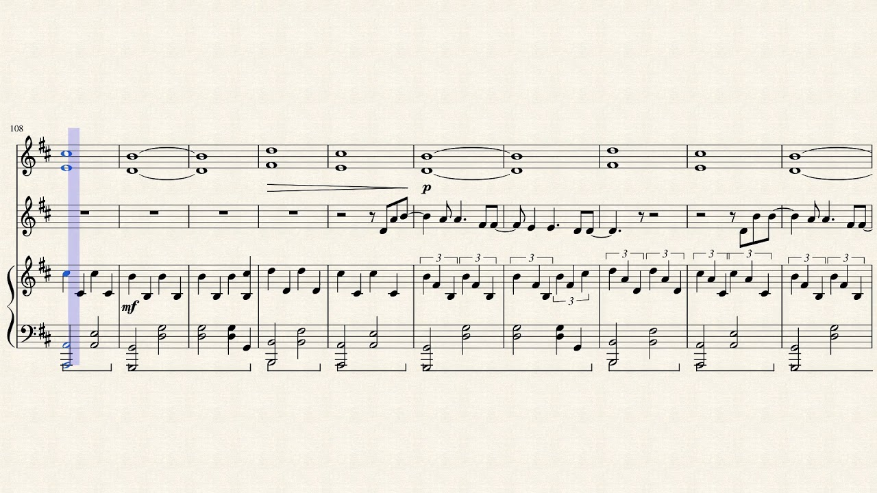 Hillsong Worship -- So Will I (piano & violin) [sheet music] by Anita Hu