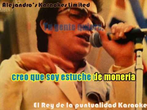 Hector Lavoe El Rey de la puntualidad Nva Version Karaoke