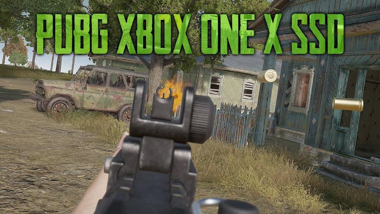 PUBG Xbox One X New Erangel With SSD (Playerunknown's Battlegrounds) thumbnail