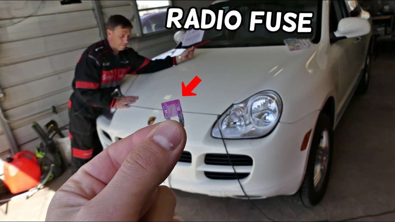 porsche cayenne radio fuse location replacement cd changer fuse location [ 1280 x 720 Pixel ]