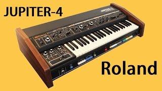 ROLAND JUPITER-4 Analog Synthesizer 1978 | HQ DEMO