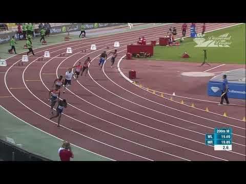 Doha Diamond Ligue 200m Ramil Guliyev 20.11