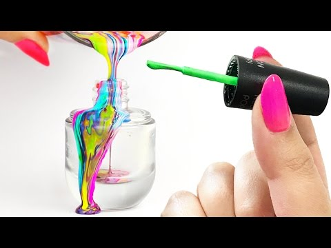 Thumbnail: Mixing ALL My 160+ Nail Polishes Together | #POLISHRIVER CHALLENGE!