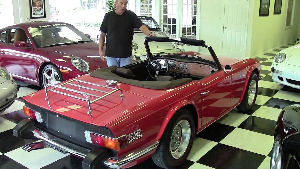 1975 Triumph TR6 Vintage Classic Collectible Tampa Bay