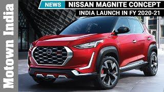 Nissan Magnite B-SUV Concept| Motown News | Motown India