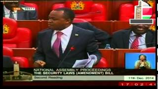 Mps In Heated Debate On Proposed Security Law