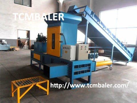 TCM BALER- wood chips pressing baler machine Georgia  Myanmar Seychelles