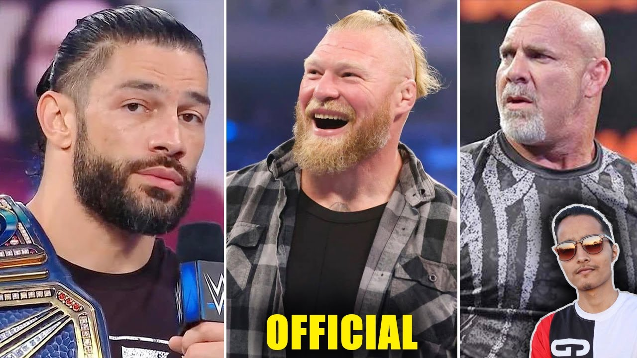 Roman Reigns RESPECTx100❤️...Brock Confirmed After Crown Jewel 2021, Sold Out Smackdown, Goldberg