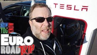 Model 3 Euro Road Trip Part 1!