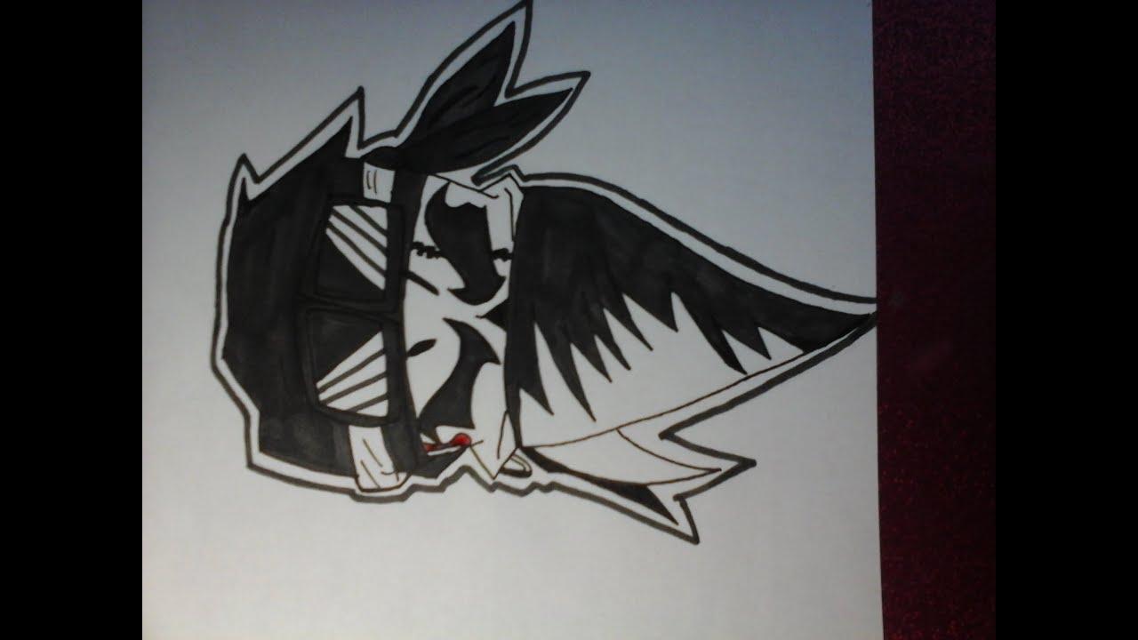 Dessin Façon Graffiti Skull Tête De Mort