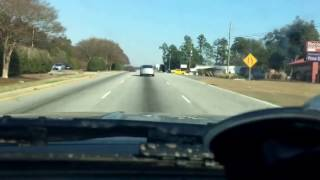 Following an impaired driver in Aiken, SC