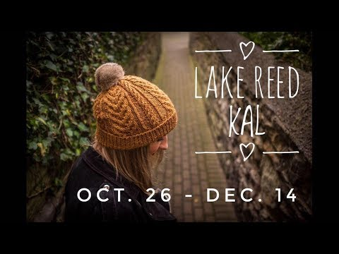 Lake Reed Hat Street Along! Knit Along With Us!