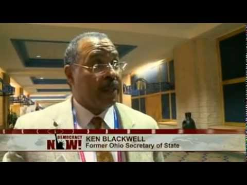 Ex-Ohio Secretary of State Ken Blackwell Questioned on Vote Suppression, From '04 to ID Laws