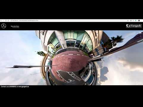 INTERACTIVE VIRTUAL TOUR | GARGASH ENTERPRISES | BENZ SHOWROOM | DUBAI  | 360 DEGREE VIRTUAL TOUR