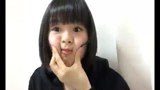 2017/6/7 9:06~ NGT48 チームNⅢ 高倉萌香のSHOWROOM配信.