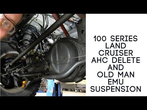 100 Series Land Cruiser AHC Delete  - Видео онлайн