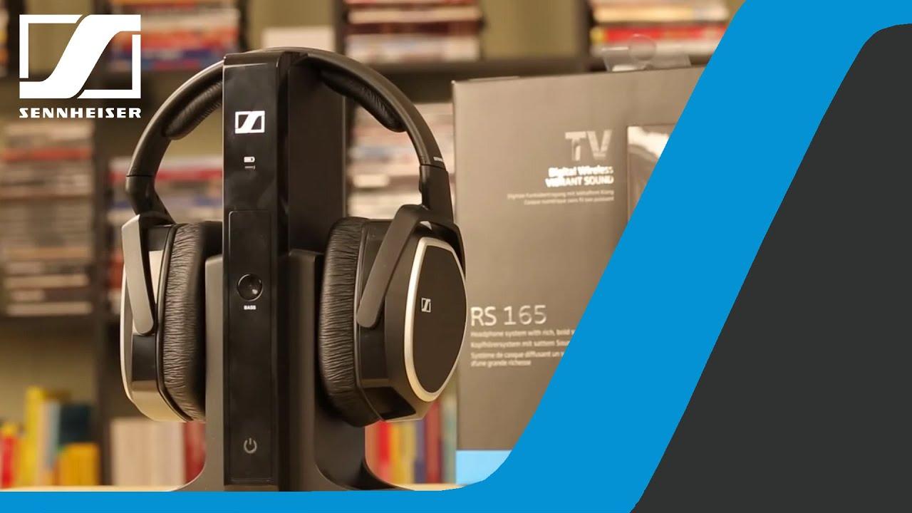 Tutorial: How to connect RS 165 headphones to TV via Minijack & RCA |  Sennheiser