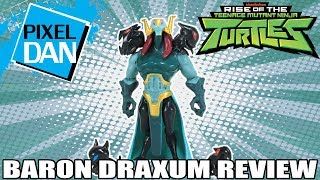 Baron Draxum Rise of the TMNT Ninja Turtles Action Figure Video Review