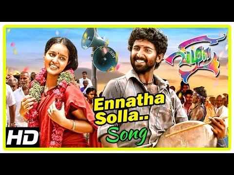 Tamil Hits 2017 | Vizha Tamil Movie Songs | Ennatha Solla Song | Mahendran | Malavika Menon