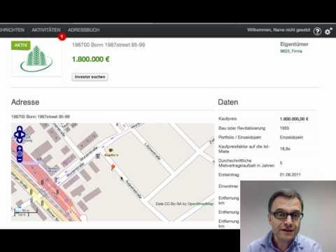 InvestorFinder: Selektive Suche nach Gewerbe Immobilien Investoren, die passen