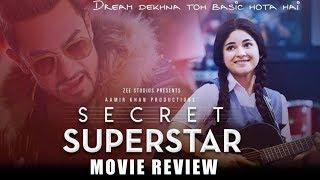 Secret Superstar Movie REVIEW   Aamir Khan, Zaira Wasim