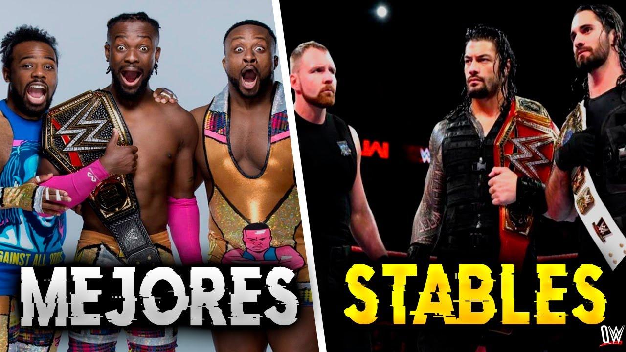 8 Stables más EXITOSOS en WWE