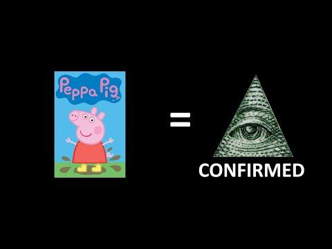 MLG Peppa Pig takes the Illuminati test
