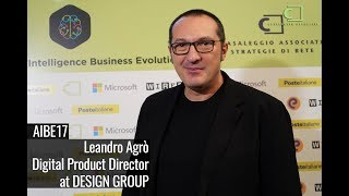AIBE17 - Intervista a Leandro Agrò, DESIGN GROUP