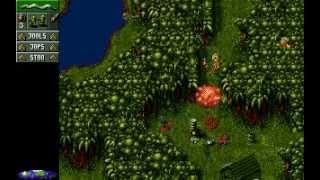 PC DOS Cannon Fodder 1 Intro und Gameplay German
