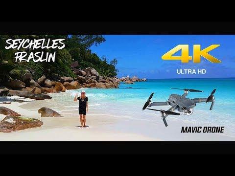 Seychelles Islands - PRASLIN 2017 [4K/UHD/UltraHD] - DJI Mavic Pro DRONE
