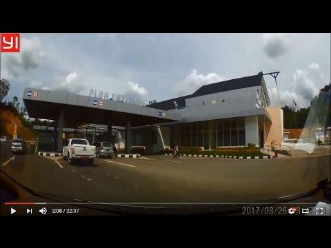 Dashcam Indonesia - Trans Kalimantan - Entikong - Tebedu - Serian