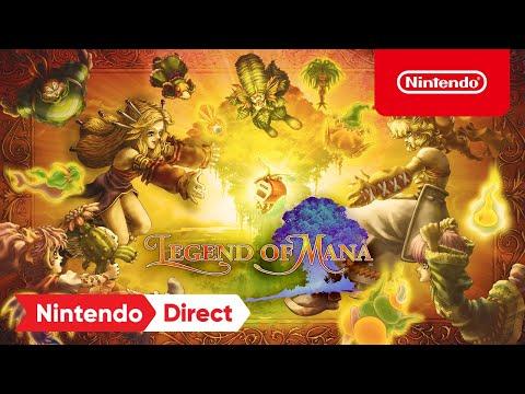 Legend of Mana – Announcement Trailer – Nintendo Switch