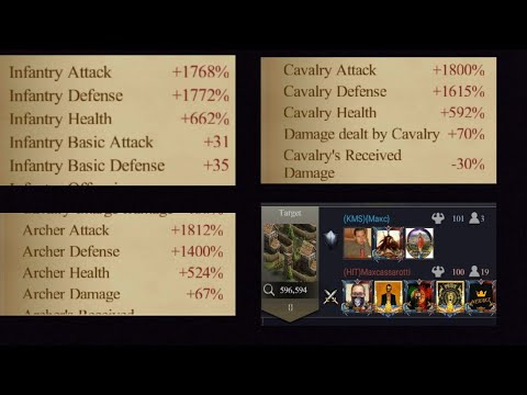 Clash Of Kings Kvk 1341 Vs 40 Epic War Monster Rallys __ Rally U0026 Defending Rallys