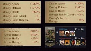Clash of Kings kvk 1341 vs 40 epic war monster rallys __ rally \u0026 defending rallys