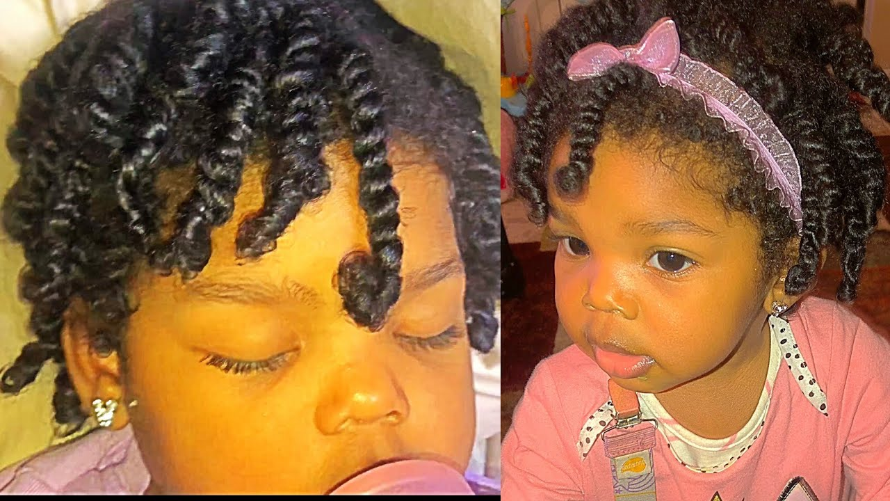 Two Strand Twists For Baby Toddler Protective Style Youtube - Baby Twist Wickeltisch