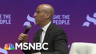 Senator Cory Booker: It's Not Enough To Just Say 'I'm Not A Racist' | All In | MSNBC