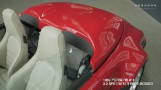 PORSCHE 911 SPEEDSTER - HEXAGON MODERN CLASSICS