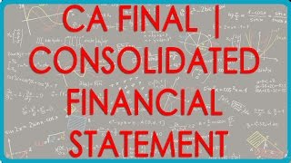 CA Final | Consolidated Financial Statement - Problem 1