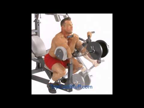 Body Solid SBL460P4 Freeweight Leverage Gym Package (Fitness Machine)
